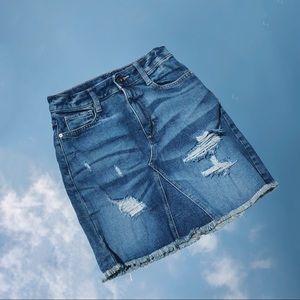 Arizona Jean Co Denim Skirt